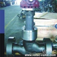 CF8, CF8m, CF3, CF3m Válvula de globo con bonete de presión de acero inoxidable con extremos de RF o Bw