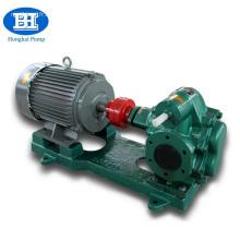 Pompe à engrenages de transfert d'huile électrique à haute pression en acier inoxydable