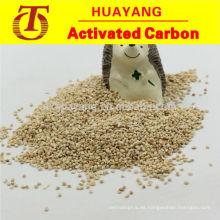 La mazorca de maíz abrasiva y abrillantadora hace que la máquina brille y brille