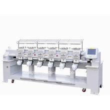 Вышивальная машина с 12 иглами 6 голов подходит для колпачка / футболки (TLC-1206)