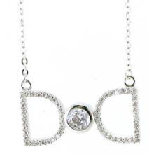 Neuer Entwurf für die Halskette der Frauen 925 silberne Schmucksachen (N6650)