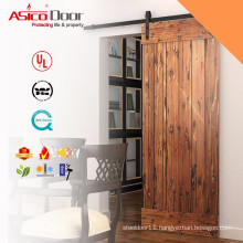 ASICO Modern Style Hot sale high quality solid wood barn sliding door