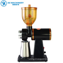 The latest portable manual electric coffee grinder hot new package red OEM custom steel box ceramic stainless steel