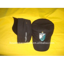 military caps or army caps with embroidery logo