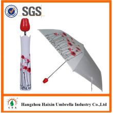 Nouvel article 2015 promotionnels cadeaux parapluie avec poignée bouteille