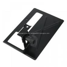 Suporte de suporte para esmerilhadeira angular de metal revestido a pó