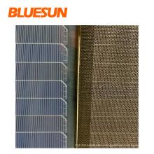 Bluesun mono balck solar panels 110watt black solar panel 160w 170w solar panel for car roof