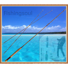 FYR001 Caña de pescar con mosca de bambú natural