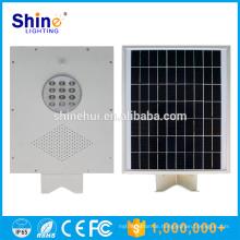 12W Fabrik-Preis IP65 integrierte alle in einer LED-Solar-Straßenlaterne