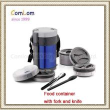 Envase de alimento con el tenedor y el cuchillo (CL1C-J200L)