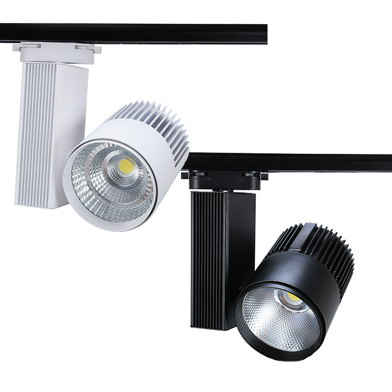 LED track lights for museum lighting