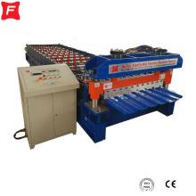 máquina de prensagem de telhado de metal