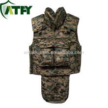 Protección completa balística NIJ IIIA chaleco antibalas chaqueta a prueba de balas