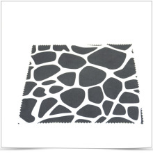 One Side Hot Transfer Printing Microfiber Cleaning Cloth