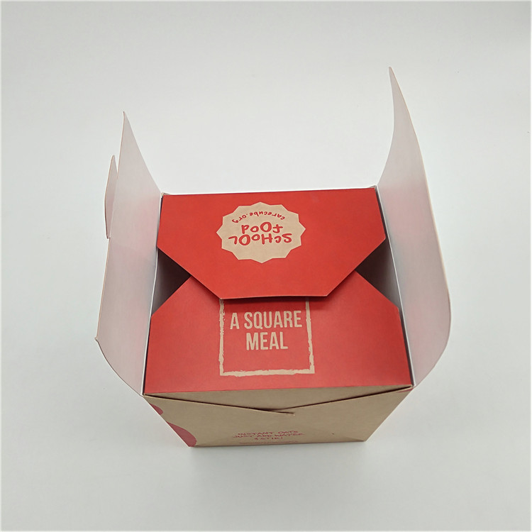 Brown Kraft Noodle Box