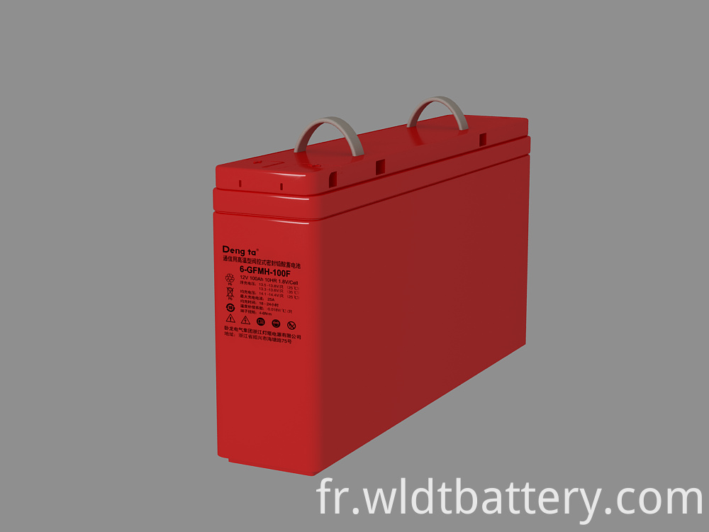Sealed Lead Acid Battery, High Quality Maintenance Free Battery, 12V 100Ah Lead Acid Battery