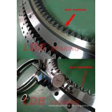 Excavadora Doosan Dx140W Anillo de giro, Círculo de giro, Cojinete de giro