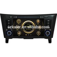 Venta caliente de la fábrica de radio de coche directo para Nissan Qashqai / X-TRAIL con GPS / Bluetooth / Radio / SWC / Virtual 6CD / 3G / ATV / iPod