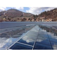 Innovative Design Fertigung und Engineering Glas Vorhangfassade