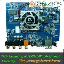 conjunto de PCB sem chumbo montagem PCB SMT e DIP CONDUZIU o controlador de luz montagem rápida pcb turno