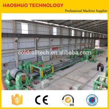 Línea de corte de bobinas de acero, línea de enderezamiento y corte de bobinas de acero