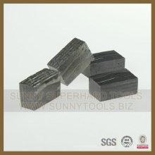 Segmento de diamante para cortar hormigón de mármol de granito