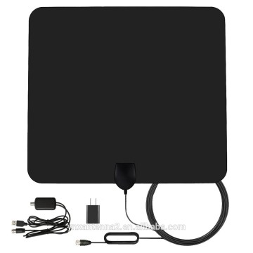 Yetnorson HDTV Antenna Indoor Digital TV Antenna with Amplifier for 50-80 Miles