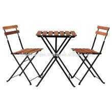 Set de jardín - Set de mesa Bistro Hecho de Acacia