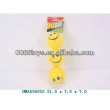 Bola de esponja de espuma de PU smily