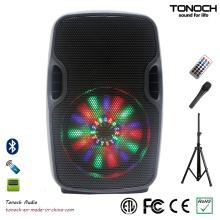 8 Zoll Professional Portable PRO Audio mit Programm RGB Licht