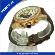 Super Sport Reloj de pulsera con fijación de piedra Precio de fábrica Psd-2780