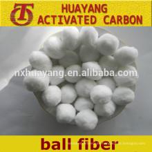Polyester-Ballfaser / Polyester-Ballfaser