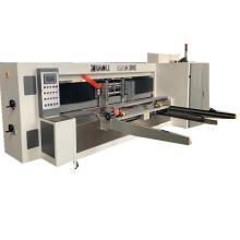 Automatic Carton Box Lead Edge Feeder Rotary Die Cutting Creasing Machine