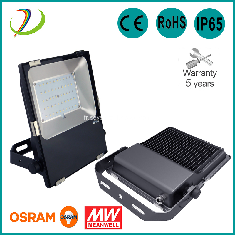 Projecteur LED 5000K IP65 50W