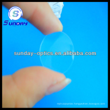 Positive meniscus lenses with coating