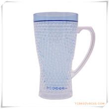Taza escarchada de la pared doble Taza de cerveza congelada del hielo para los regalos promocionales (HA09070-2)