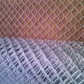 Горячая Окунутая Гальванизированная Звено Цепи Забор Сетки Металла