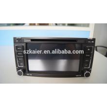 Usine directement! Quad core voiture dvd lecteur android pour voiture, wifi, BT, lien miroir, DVR, SWC pour VW OLD TOUAREG