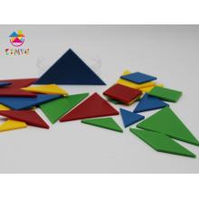 Pièces de puzzle en plastique, Tangrams en plastique pour jeu