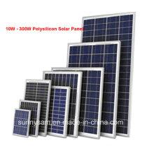 Panneau de cellules solaires de rendement élevé de 40W du fabricant de la Chine