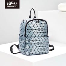Latest geometric backpack diamond lattice travel bag waterproof backpack for school