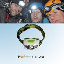 Hot Promoção impermeável 1W poder superior LED farol (POPPAS-T16)