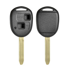New Material  D-SHELL Car Remote Key Shell  With TOY43 Key Blade Key Shell For Toyota TOY-YK-083