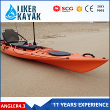 4.3meter LLDPE/HDPE Single Sit on Top Kayak