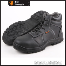 Industrial Leather Safety Boots with Steel Toe (SN5259)