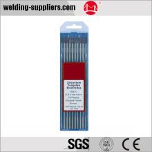 WZr3 2.4x175mm 0.3% tungsteno Zirconiated marrón electrodo