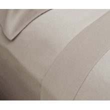 80% Cotton 20% Polyester Satin Shiny Fitted Sheet (DPFB8054)