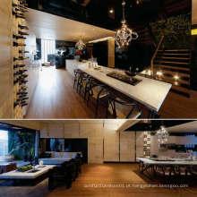 Design de mobiliário de jantar de madeira
