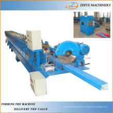 Tubo de agua de metal galvanizado / Tubo / Gutter Roll formando la máquina