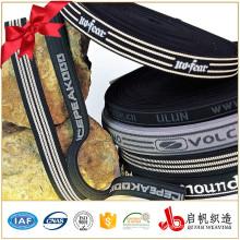 Custom print jacquard tape for garment accessory